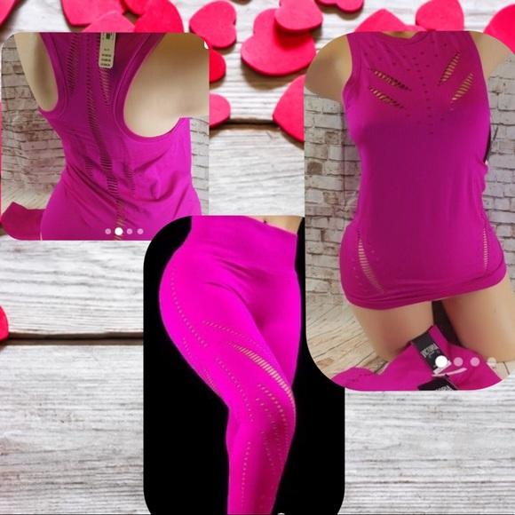 Victoria's Secret Sport Seamless Top & Legging Set